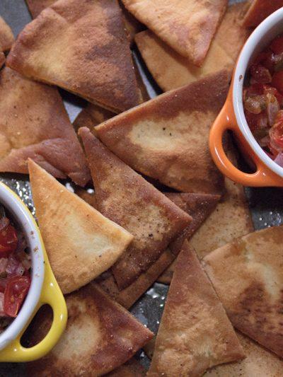Salsa and Pita Chips