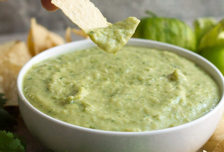 Creamy Salsa Verde