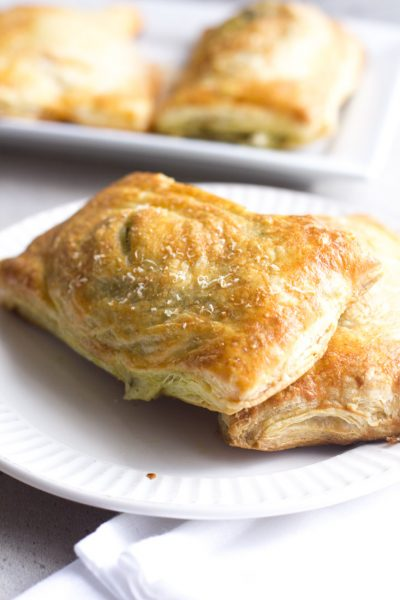Pesto Chicken Copy Cat Hot Pockets