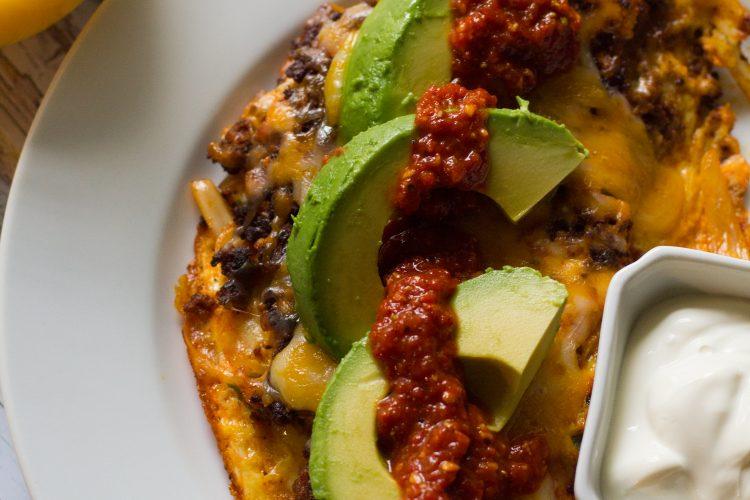 Spicy Chorizo Omelet
