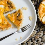 Apple Cheddar Quiche is the sweet and savory quiche of your dreams. Step out on a limb and try this creative recipe. Cheesy, fruity, earthy - this quiche has it all.