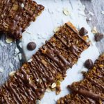 Invite the kiddos in the kitchen with this easy chocolate maple granola bar recipe. They will love showing off their creation and you'll love that they're eating a snack with real ingredients!