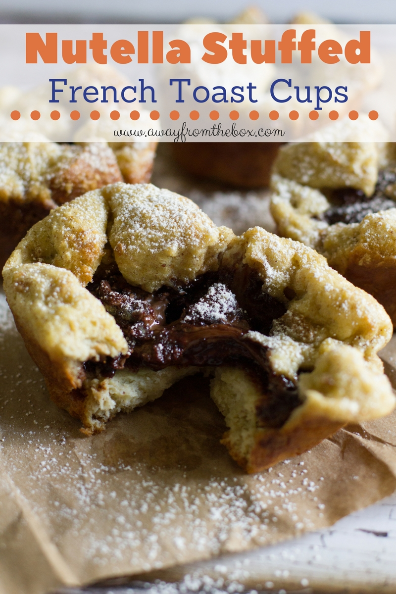 Nutella Stuffed French Toast Cups. The perfect marriage of french ...
