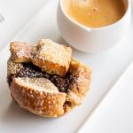 French toast cups are a fantastic easy to make breakfast. Pop them in the oven and continue your morning as they bake. The Nutella hazelnut spread takes these over the top!