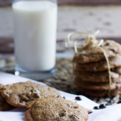 Espresso Chocolate Chip Cookies