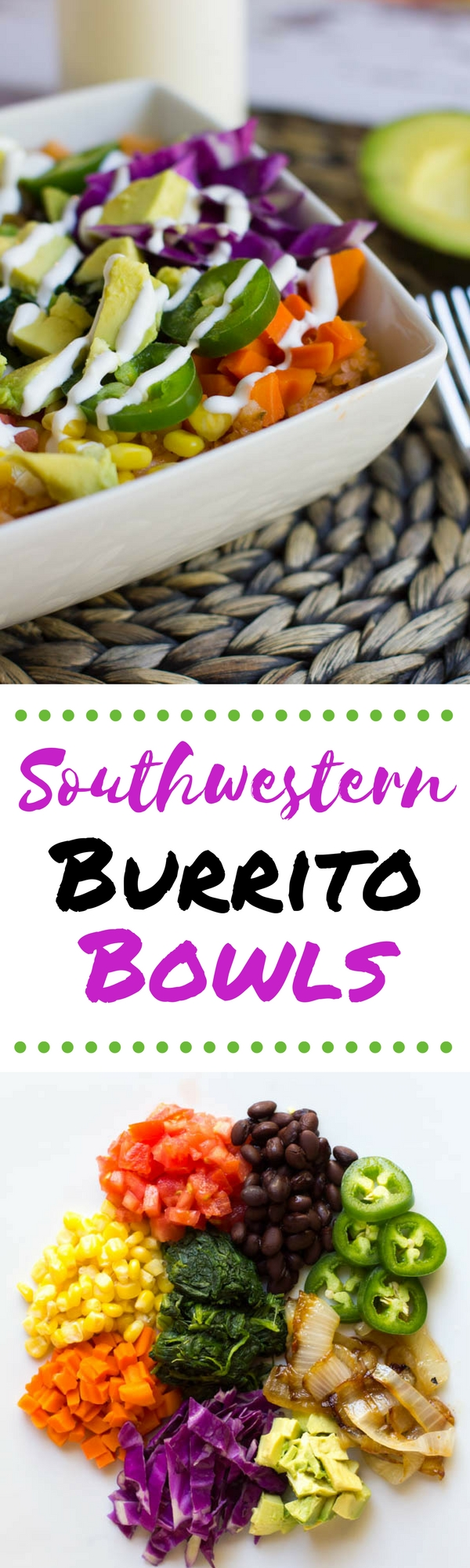 Everything you love about a burrito in a bowl. Change the toppings as you wish to create your own experience!