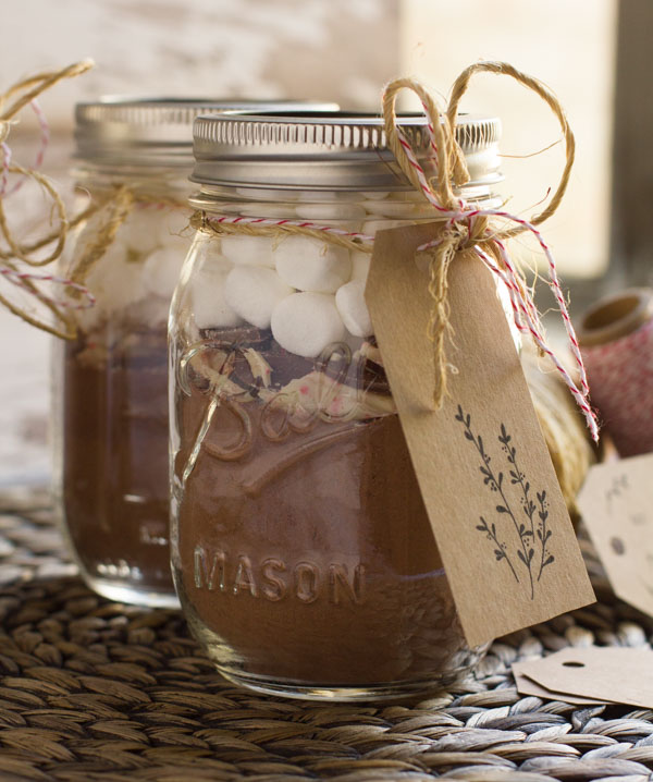 Homemade Hot Chocolate Mix Amp A Free Gift Tag Printable