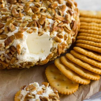 Cheese Ball with DIY Ranch Seasoning