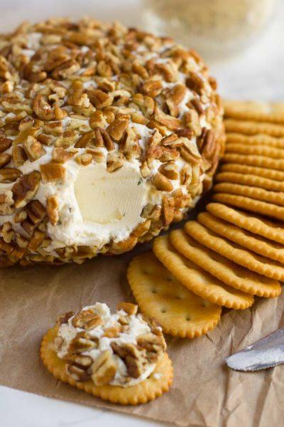 Cheese Ball with DIY Ranch Seasoning