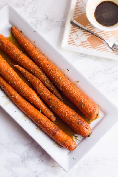 Sweet N' Spicy Brown Sugar Carrots