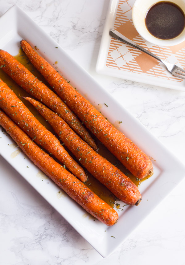 Brown Sugar Carrots | Sweet and Spicy | Brown Sugar | Side Dish | Roasted Carrots | Carrots | Glazed