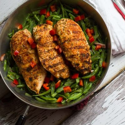 French Spice Grilled Chicken