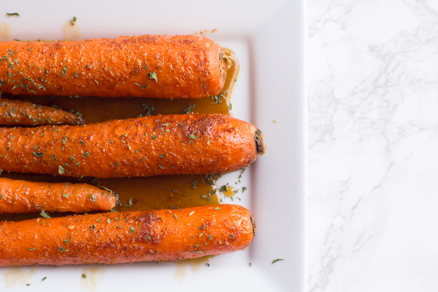 Carrots | Sweet and Spicy | Brown Sugar | Side Dish | Roasted Carrots | Carrot | Glazed