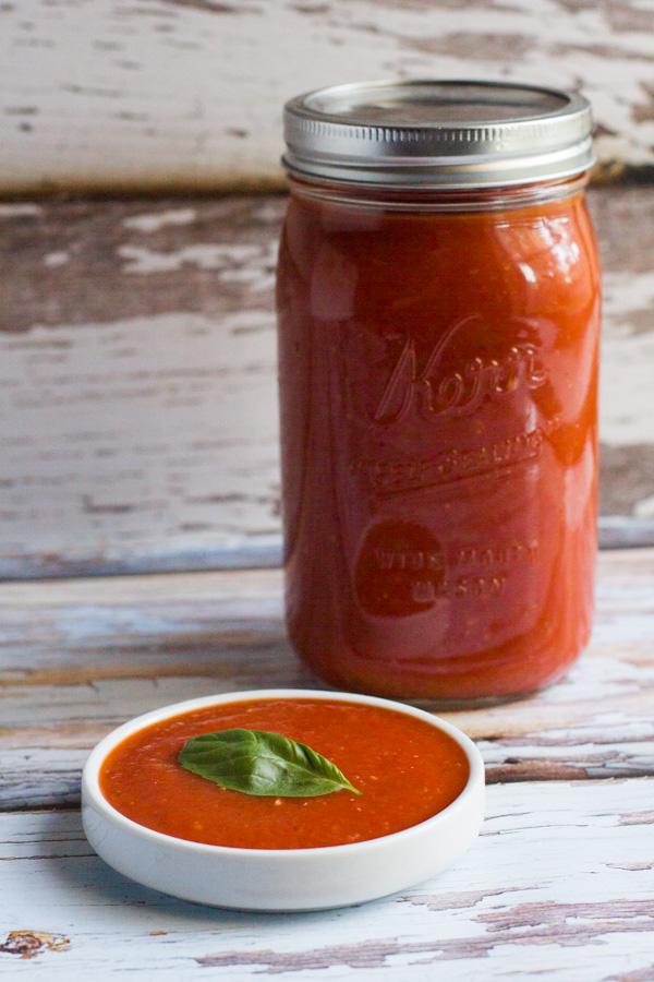 Marinara | Easy | Homemade | Basil | Basil Marinara Sauce | Pasta Sauce