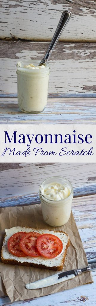 Fast | Easy | Mayonnaise | Homemade | Vegetarian | Condiments | From Scratch