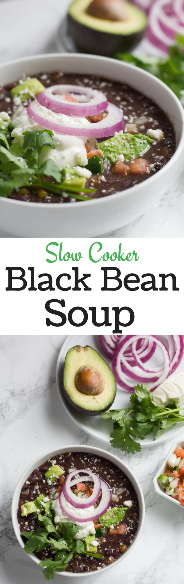 Black Beans | Soup | Slow Cooker | Crock Pot | Winter Soups | Easy Recipes | Mexican Soup
