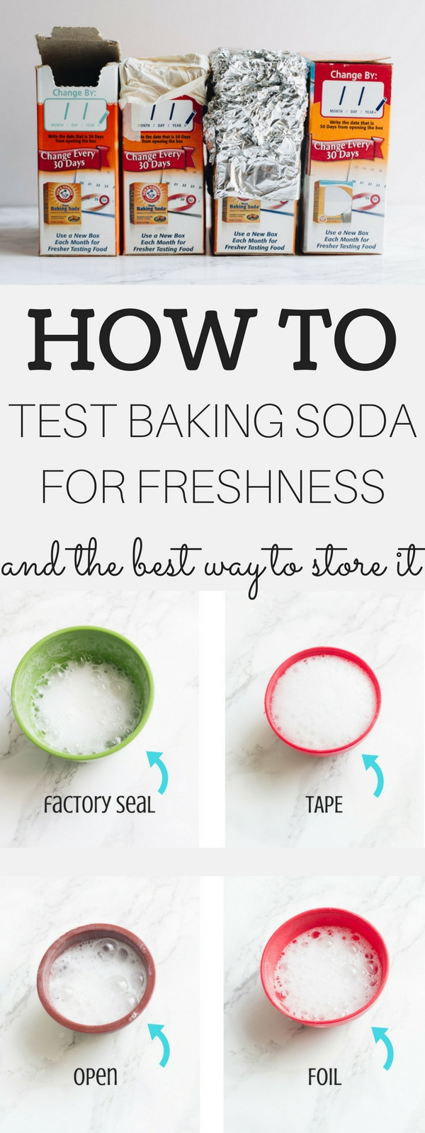 How to | Test baking soda | How to test baking soda | Baking soda freshness | how to store | Storing Baking Soda
