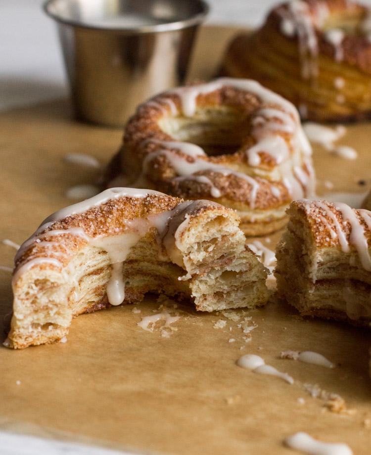 Easy | Homemade | Recipe | Cronut | Cinnamon Sugar | Cinnamon Cronut | Homemade Donuts | Croissants | Copycat