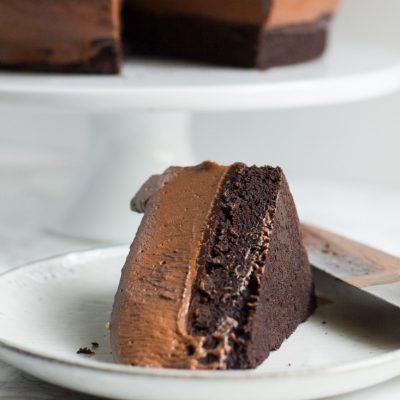Baileys Chocolate Mousse Cake – Celebrating Our Blogiversary!