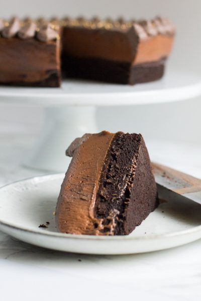 Baileys Chocolate Mousse Cake – Celebrating Our Blogiversary!