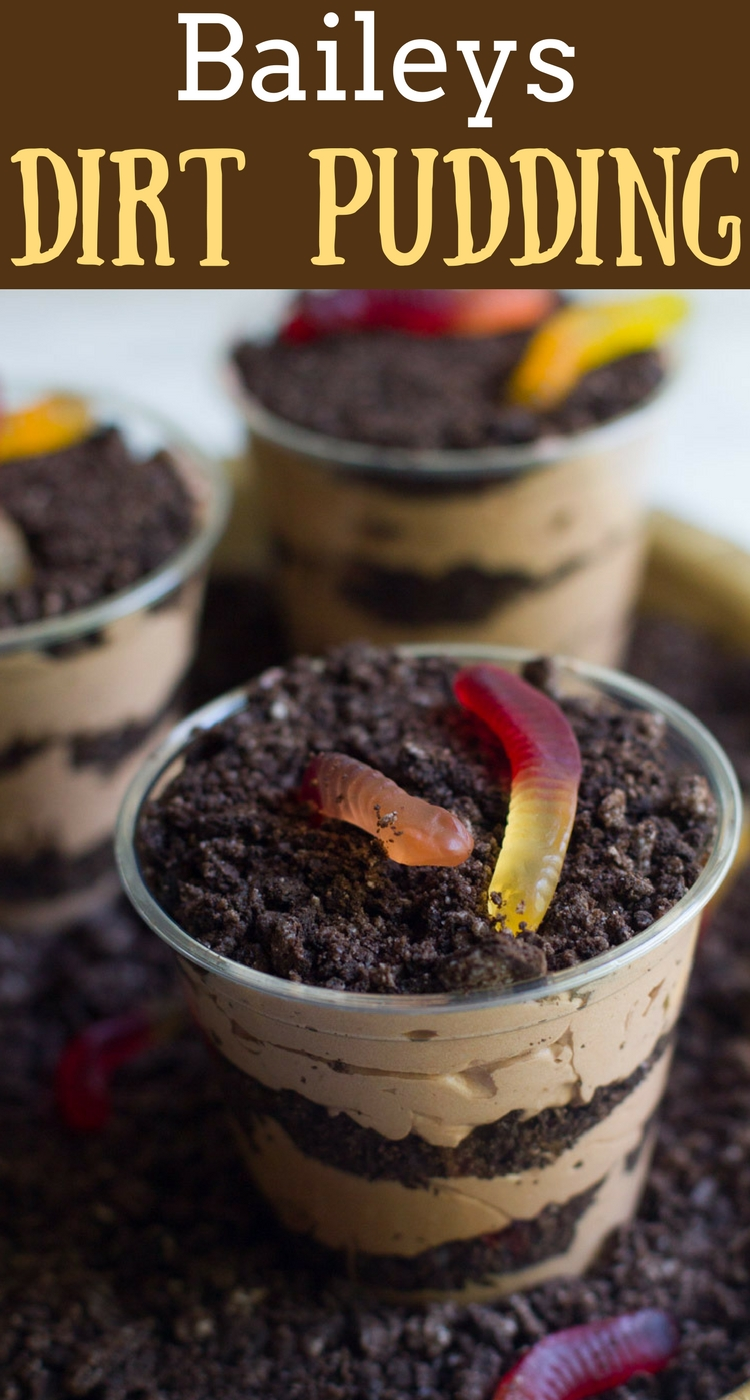 A childhood classic with an adult twist - try these Baileys Dirt Pudding cups for a fun dessert you can enjoy today.
