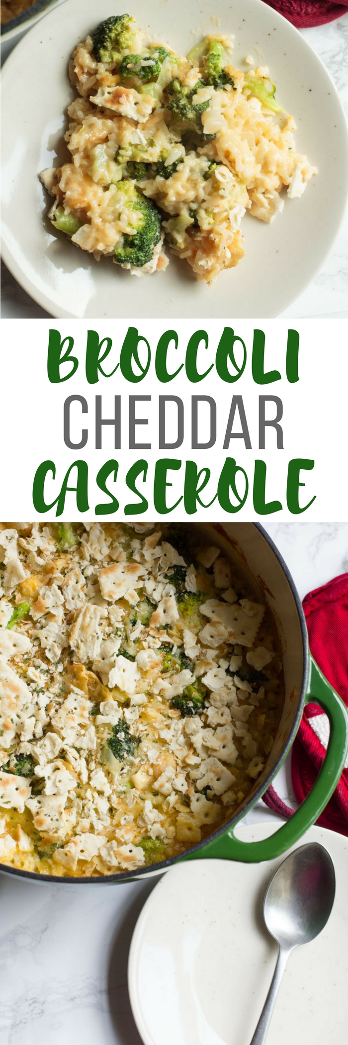 Broccoli Cheddar Casserole is a family favorite - perfect for a weeknight or as a holiday side. Copycat Cheddars recipe.