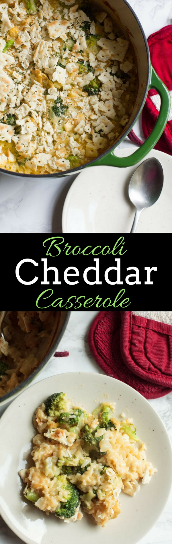 Broccoli Cheddar Casserole is a family favorite - perfect for a weeknight or as a holiday side.