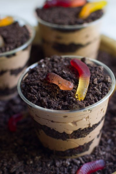 Baileys Dirt Pudding (and a Kid Friendly Alternative)
