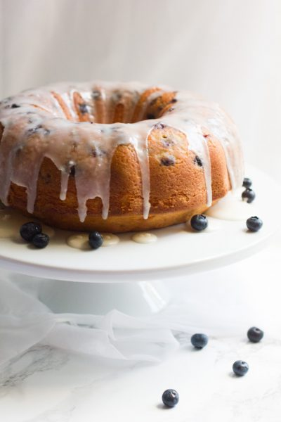 This lemon blueberry pound cake is a dense, perfect from scratch recipe - tasty all year round!