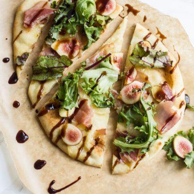 Brie, Fig & Prosciutto Pizza