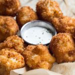 Take a load off with these awesome fried macaroni and cheese bites. Great as an appetizer or to serve at a party - and the macaroni itself is delicious on its own.