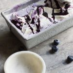 Honey Blueberry Lavender ice cream makes you scream for more ice cream. It's heaven in a cup!