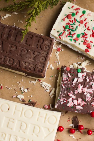 Make your own chocolate bars are great for any occasion, from Christmas to a Get Well basket, everyone loves chocolate!