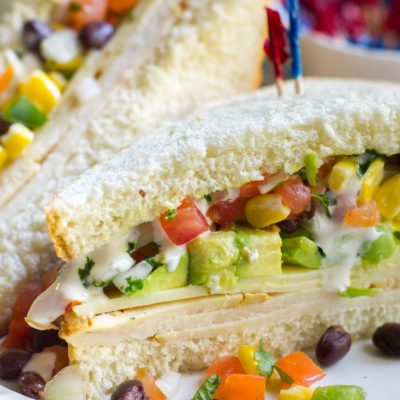 Spicy Southwest Chicken Sandwich – with Pepperidge Farm Farmhouse® Hearty White Bread