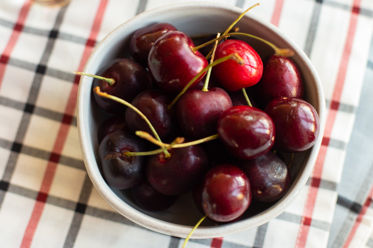 wine soaked chocolate covered cherries in a bowl