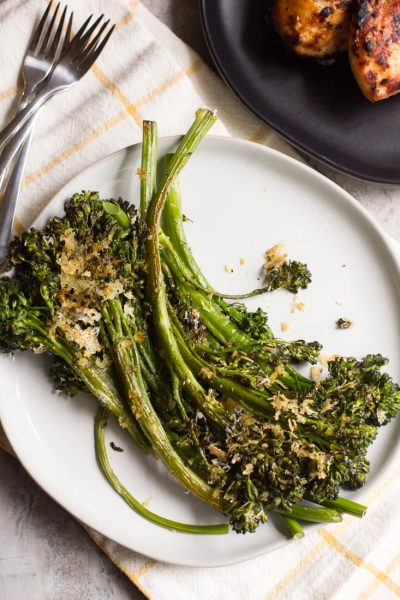 Sheet Pan Parmesan Roasted Broccolini