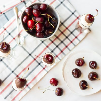 Wine Soaked Chocolate Covered Cherries