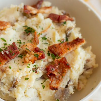 Instant Pot Jalapeño Popper Mashed Potatoes