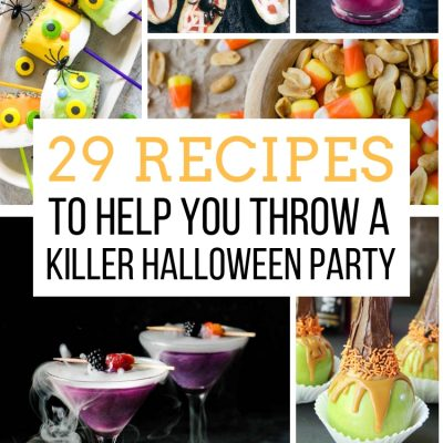 29 Recipes to Help You Throw a Killer Halloween Party