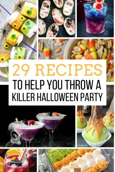 29 Recipes to Help You Throw a Killer Halloween Party