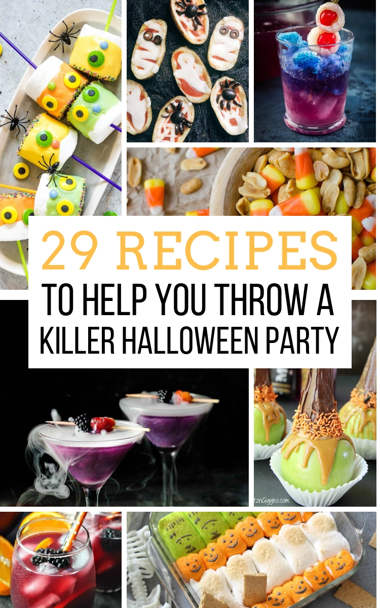 29 recipes to help you throw a killer halloween party - away from