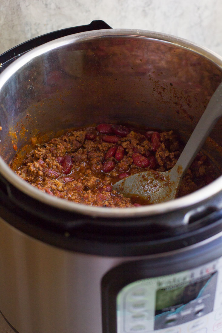 Instant Pot Chili in an Instant Pot