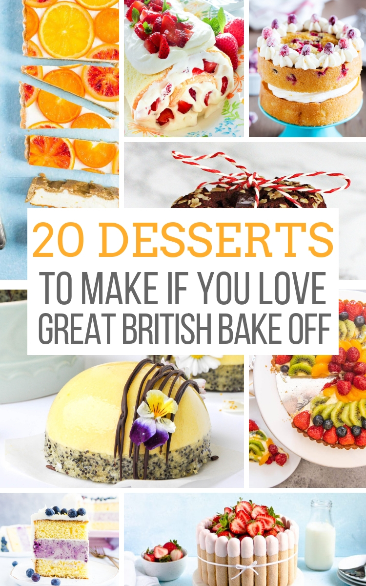 dessert recipes great british bake off 2 Desserts to Make if You Love the Great British Baking Show