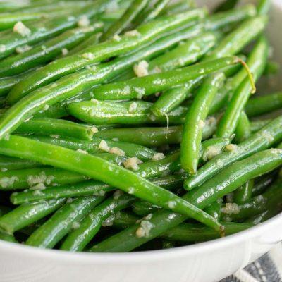 Crispy Garlic Green Beans