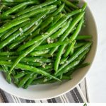 Garlicky and delicious, these crispy garlic green beans are a fast and flavorful side dish.