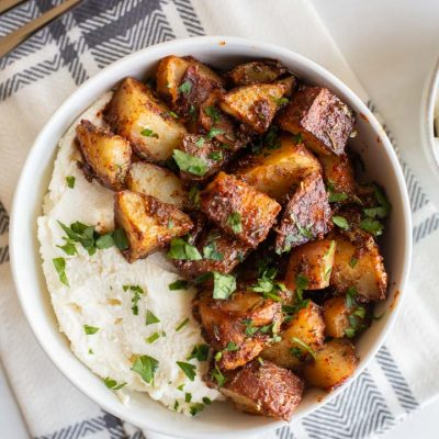 Sweet and Spicy Roasted Potatoes
