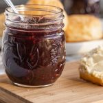 This mixed berry jam uses summer fruits like blueberries, blackberries, raspberries and strawberries to make a delicious spreadable jam perfect for topping biscuits and scones!