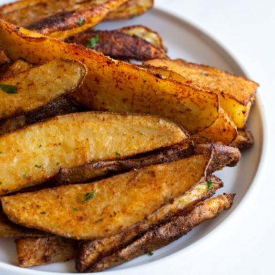 Roasted Seasoned Potato Wedges