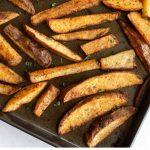 Flavors like garlic, onion and paprika make these awesome roasted seasoned potato wedges. They're easy to prepare and an instant hit at the table.