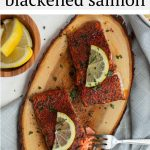 #ad Tender cedar plank salmon rubbed with cajun blackened spice, served with rice and summer vegetables. It's the ultimate summer grilling recipe! #Safeway